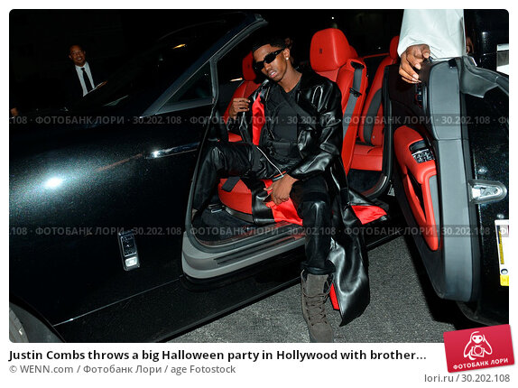 Купить «Justin Combs throws a big Halloween party in Hollywood with brother Christian Casey Combs at Club Liaison. But The Los Angeles Police Department shuts...», фото № 30202108, снято 31 октября 2017 г. (c) age Fotostock / Фотобанк Лори