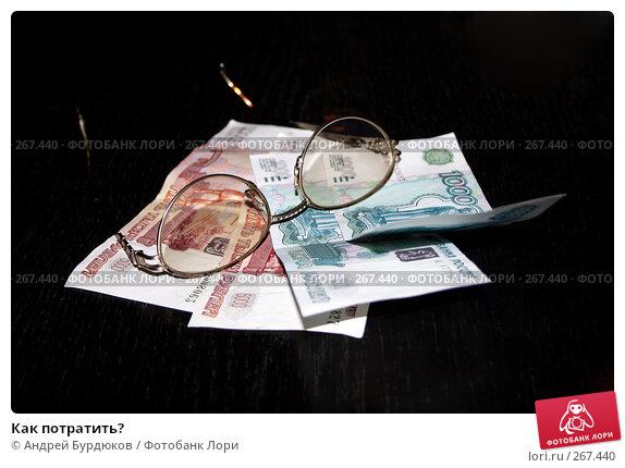Как потратить?, фото № 267440, снято 17 апреля 2008 г. (c) Андрей Бурдюков / Фотобанк Лори