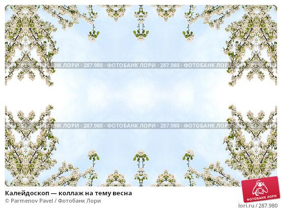 Купить «Калейдоскоп — коллаж на тему весна», фото № 287980, снято 10 мая 2008 г. (c) Parmenov Pavel / Фотобанк Лори