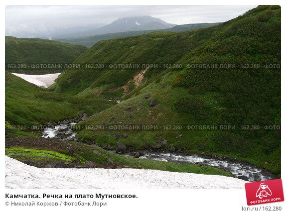 Камчатка. Речка на плато Мутновское., фото № 162280, снято 26 июня 2007 г. (c) Николай Коржов / Фотобанк Лори