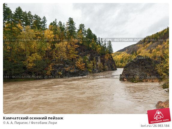 Купить «Камчатский осенний пейзаж», фото № 26983184, снято 18 сентября 2013 г. (c) А. А. Пирагис / Фотобанк Лори