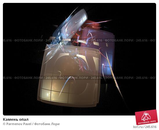Купить «Камень опал», иллюстрация № 245616 (c) Parmenov Pavel / Фотобанк Лори