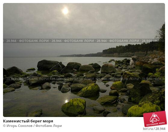 Каменистый берег моря, фото № 28944, снято 30 сентября 2005 г. (c) Игорь Соколов / Фотобанк Лори