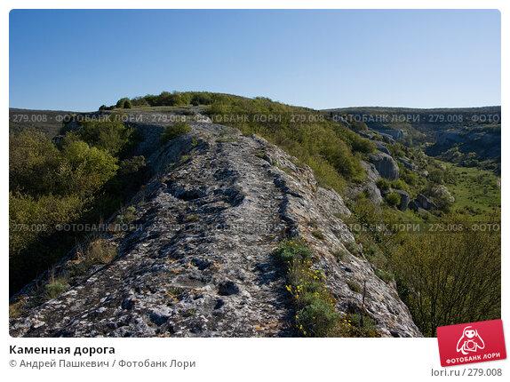 Каменная дорога, фото № 279008, снято 3 мая 2007 г. (c) Андрей Пашкевич / Фотобанк Лори