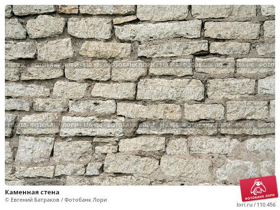 Купить «Каменная стена», фото № 110456, снято 18 августа 2007 г. (c) Евгений Батраков / Фотобанк Лори