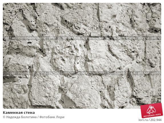 Каменная стена, фото № 202944, снято 8 апреля 2007 г. (c) Надежда Болотина / Фотобанк Лори