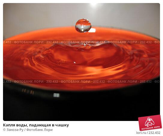 Капля воды, падающая в чашку, фото № 232432, снято 23 марта 2008 г. (c) Заноза-Ру / Фотобанк Лори