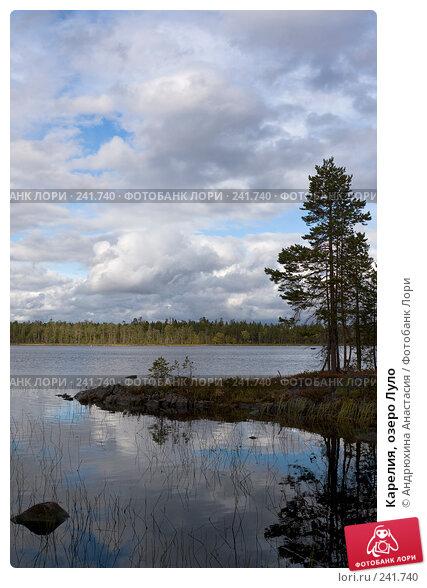 Карелия, озеро Луло, фото № 241740, снято 16 сентября 2007 г. (c) Андрюхина Анастасия / Фотобанк Лори