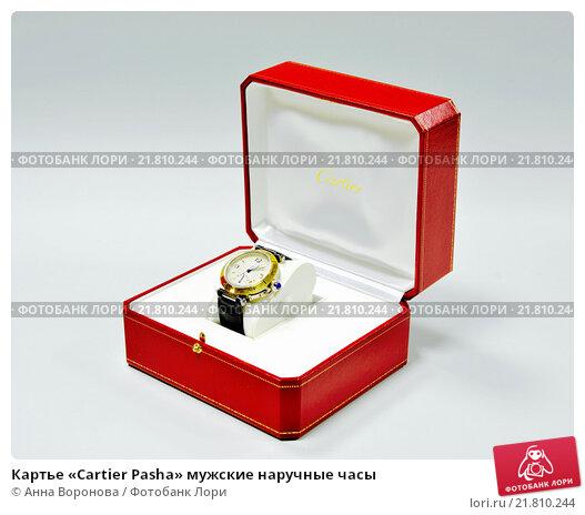Купить «Картье «Cartier Pasha» мужские наручные часы», фото № 21810244, снято 14 февраля 2016 г. (c) Анна Воронова / Фотобанк Лори