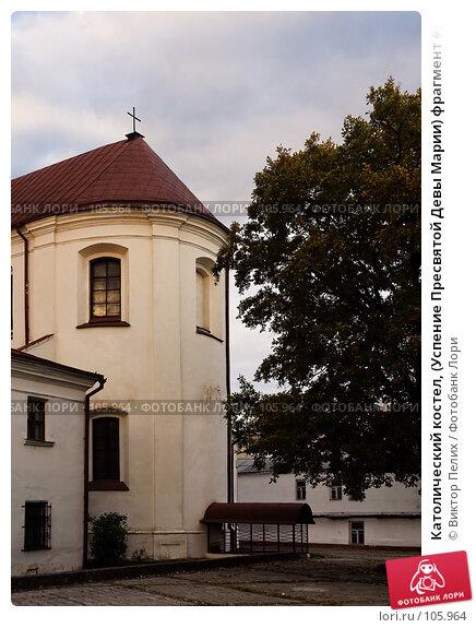 Католический костел, (Успение Пресвятой Девы Марии) фрагмент #1, Могилев, фото № 105964, снято 28 апреля 2017 г. (c) Виктор Пелих / Фотобанк Лори