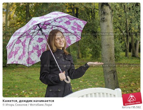 Кажется, дождик начинается, фото № 95592, снято 28 июля 2017 г. (c) Игорь Соколов / Фотобанк Лори