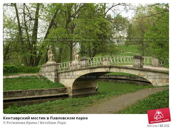Кентаврский мостик в Павловском парке, фото № 48532, снято 20 мая 2007 г. (c) Ротманова Ирина / Фотобанк Лори