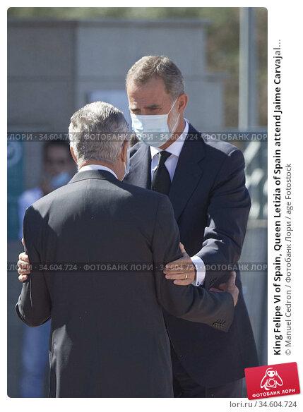 King Felipe VI of Spain, Queen Letizia of Spain attend Jaime Carvajal... Редакционное фото, фотограф Manuel Cedron / age Fotostock / Фотобанк Лори