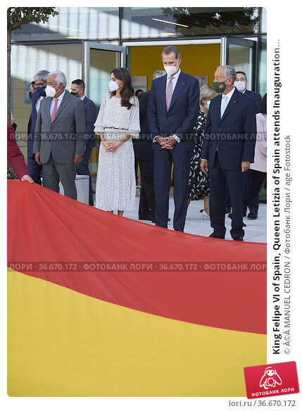 King Felipe VI of Spain, Queen Letizia of Spain attends Inauguration... Редакционное фото, фотограф ©MANUEL CEDRON / age Fotostock / Фотобанк Лори