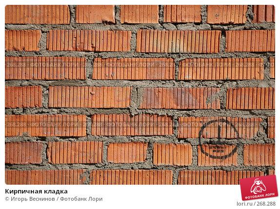 Кирпичная кладка, фото № 268288, снято 26 апреля 2008 г. (c) Игорь Веснинов / Фотобанк Лори