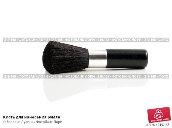 Кисть для нанесения румян, фото № 219168, снято 7 марта 2008 г. (c) Валерия Потапова / Фотобанк Лори