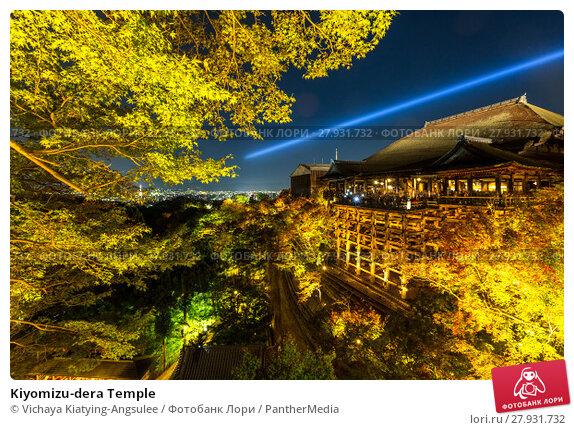 Купить «Kiyomizu-dera Temple», фото № 27931732, снято 24 августа 2019 г. (c) PantherMedia / Фотобанк Лори