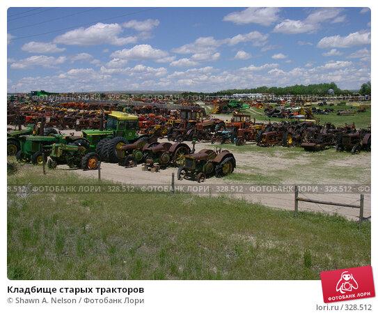 Кладбище старых тракторов, фото № 328512, снято 30 мая 2008 г. (c) Shawn A. Nelson / Фотобанк Лори
