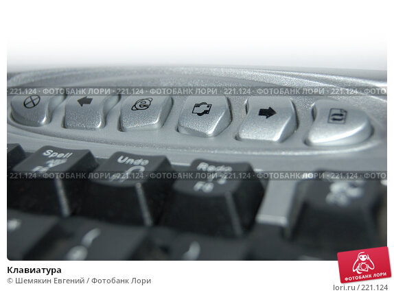 Клавиатура, иллюстрация № 221124 (c) Шемякин Евгений / Фотобанк Лори