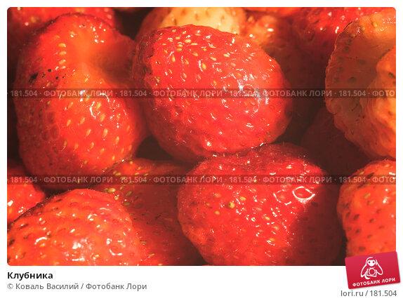 Купить «Клубника», фото № 181504, снято 11 июля 2006 г. (c) Коваль Василий / Фотобанк Лори