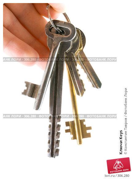 Купить «Ключи Keys», фото № 306280, снято 21 декабря 2006 г. (c) Константин Тавров / Фотобанк Лори