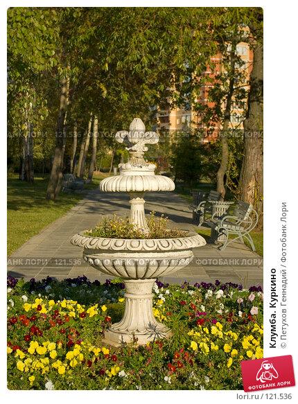 Клумба. Куркино, фото № 121536, снято 21 сентября 2007 г. (c) Петухов Геннадий / Фотобанк Лори