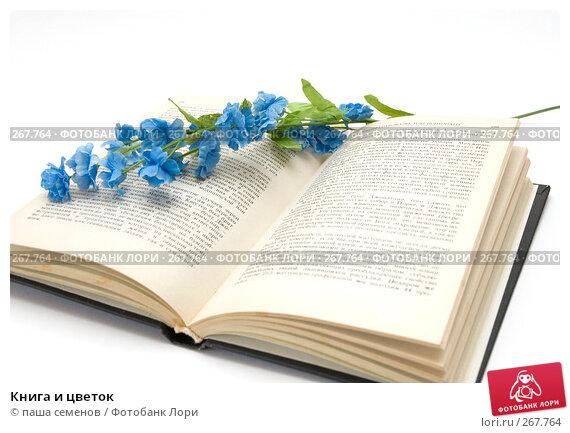 Книга и цветок, фото № 267764, снято 15 апреля 2008 г. (c) паша семенов / Фотобанк Лори