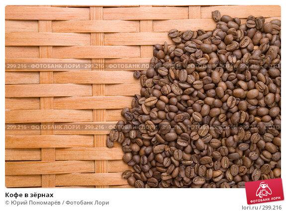 Кофе в зёрнах, фото № 299216, снято 5 апреля 2008 г. (c) Юрий Пономарёв / Фотобанк Лори