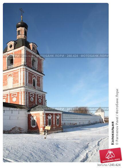 Колокольня, фото № 240424, снято 24 февраля 2008 г. (c) Parmenov Pavel / Фотобанк Лори