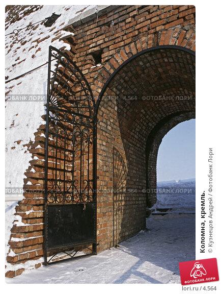 Коломна, кремль., фото № 4564, снято 17 января 2017 г. (c) Кузнецов Андрей / Фотобанк Лори