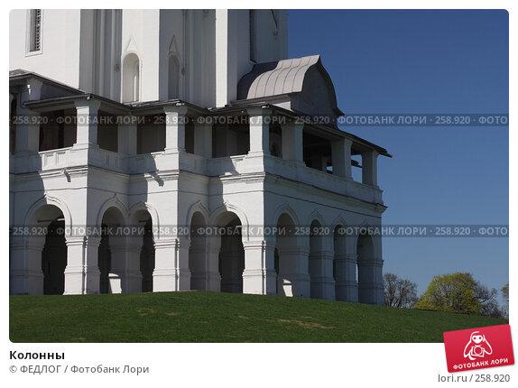 Колонны, фото № 258920, снято 22 апреля 2008 г. (c) ФЕДЛОГ.РФ / Фотобанк Лори