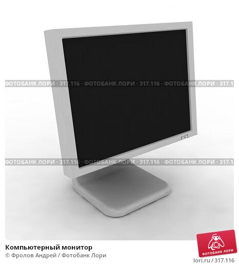 Купить «Компьютерный монитор», фото № 317116, снято 22 марта 2018 г. (c) Фролов Андрей / Фотобанк Лори
