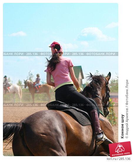 Купить «Конное шоу», фото № 285136, снято 8 июля 2006 г. (c) Андрей Армягов / Фотобанк Лори