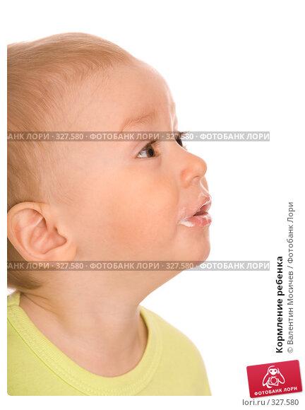 Купить «Кормление ребенка», фото № 327580, снято 18 мая 2008 г. (c) Валентин Мосичев / Фотобанк Лори