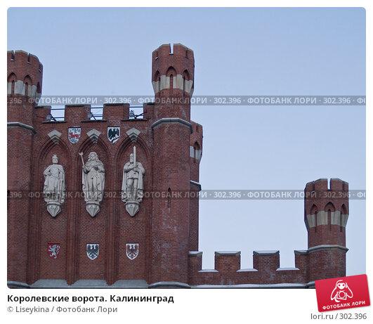 Королевские ворота. Калининград, фото № 302396, снято 2 января 2008 г. (c) Liseykina / Фотобанк Лори