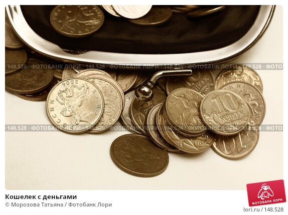 Купить «Кошелек с деньгами», фото № 148528, снято 13 декабря 2007 г. (c) Морозова Татьяна / Фотобанк Лори