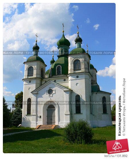 Козелецкая церковь, фото № 131892, снято 18 июня 2007 г. (c) Тютькало Игорь / Фотобанк Лори