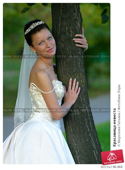 Красавица невеста, фото № 46464, снято 30 сентября 2006 г. (c) Морозова Татьяна / Фотобанк Лори