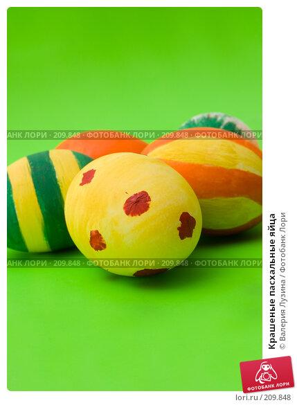 Крашеные пасхальные яйца, фото № 209848, снято 26 февраля 2008 г. (c) Валерия Потапова / Фотобанк Лори