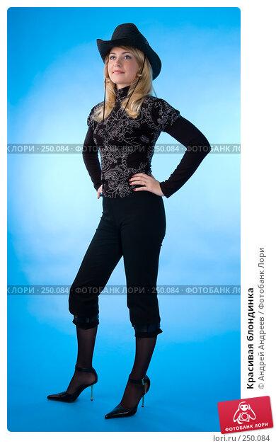 Купить «Красивая блондинка», фото № 250084, снято 21 октября 2007 г. (c) Андрей Андреев / Фотобанк Лори