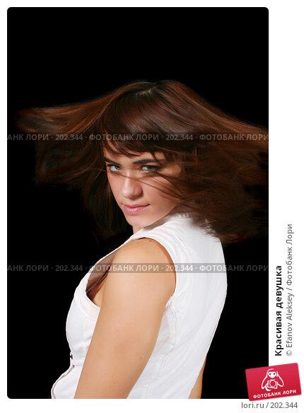 Красивая девушка, фото № 202344, снято 9 февраля 2008 г. (c) Efanov Aleksey / Фотобанк Лори