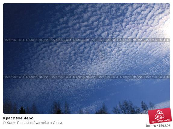 Красивое небо, фото № 159896, снято 1 апреля 2007 г. (c) Юлия Паршина / Фотобанк Лори