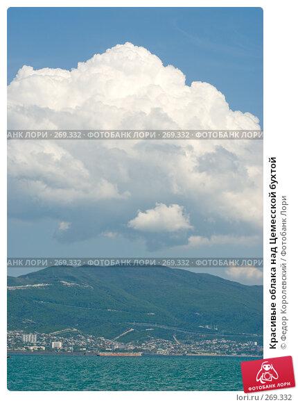 Купить «Красивые облака над Цемесской бухтой», фото № 269332, снято 1 мая 2008 г. (c) Федор Королевский / Фотобанк Лори