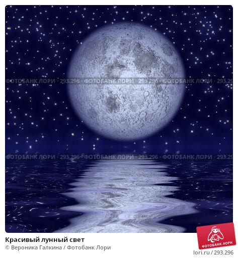 Купить «Красивый лунный свет», иллюстрация № 293296 (c) Вероника Галкина / Фотобанк Лори