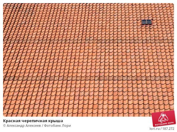 Купить «Красная черепичная крыша», эксклюзивное фото № 187272, снято 4 августа 2006 г. (c) Александр Алексеев / Фотобанк Лори