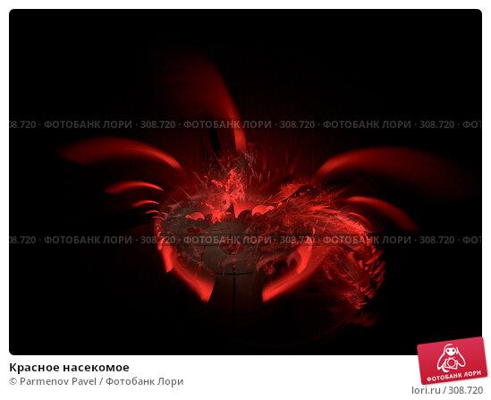 Красное насекомое, иллюстрация № 308720 (c) Parmenov Pavel / Фотобанк Лори