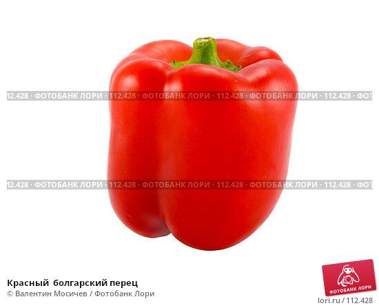 Красный  болгарский перец, фото № 112428, снято 2 февраля 2007 г. (c) Валентин Мосичев / Фотобанк Лори