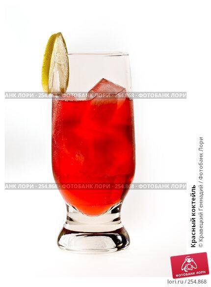 Красный коктейль, фото № 254868, снято 12 октября 2005 г. (c) Кравецкий Геннадий / Фотобанк Лори