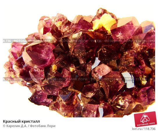 Купить «Красный кристалл», фото № 118736, снято 7 ноября 2007 г. (c) Карелин Д.А. / Фотобанк Лори