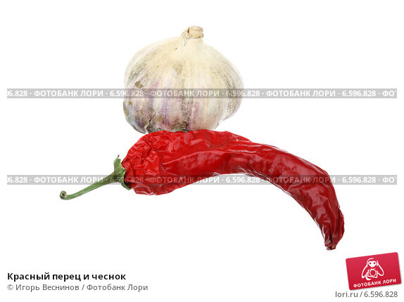 Купить «Красный перец и чеснок», фото № 6596828, снято 28 октября 2014 г. (c) Игорь Веснинов / Фотобанк Лори